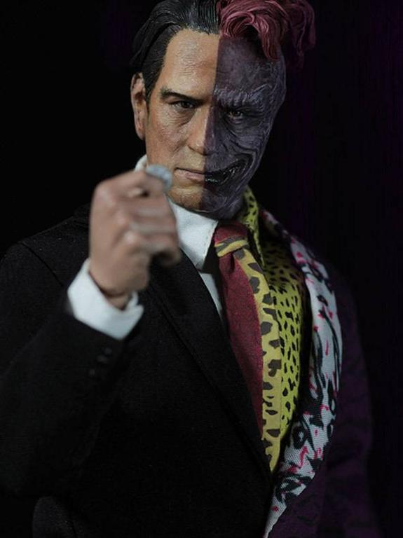 Two Face Feels Lucky In New Batman Arkham City Image: TWO-FACE
